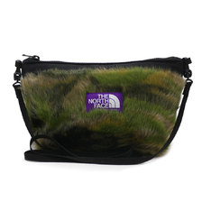 THE NORTH FACE PURPLE LABEL Camouflage Fur Field Pouch M CF CAMOUFLAGE NN8958N画像