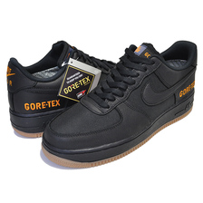 NIKE AIR FORCE 1 GORE-TEX black/black-light carbon CK2630-001画像