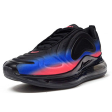 NIKE AIR MAX 720 BLACK/LASER BLUE/FLASH CRIMSON AO2924-017画像