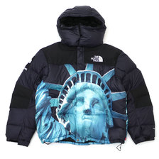 Supreme × THE NORTH FACE 19FW Statue of Liberty Baltoro Jacket BLACK画像