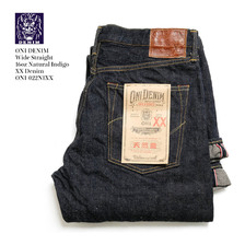 ONI DENIM 15.5oz Natural Indigo XX Relax Straight ONI-022NIXX画像