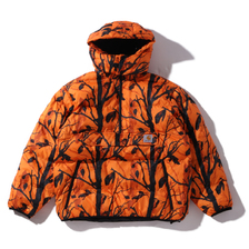 Carhartt JONES PULLOVER CAMO TREE/ORANGE I026810-05Z00画像
