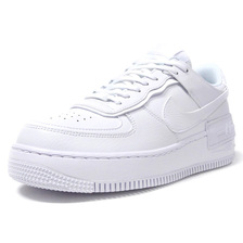 NIKE (WMNS) AIR FORCE 1 SHADOW WHITE/WHITE/WHITE CI0919-100画像