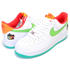 "NIKE AIR FORCE 1 07 LE SBY ""SHIBU-CAJI"" white/green nebula CQ7506-146画像"