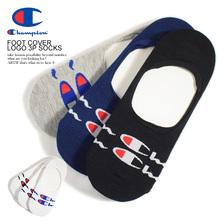 Champion FOOT COVER LOGO 3P SOCKS CMSCR551画像