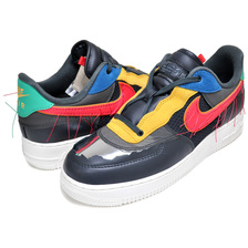 NIKE AIR FORCE 1 LOW BHM 2020 dk smoke grey/track red CT5534-001画像
