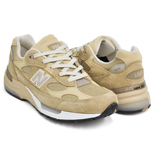 new balance M992TN TAN/WHITE made in U.S.A.画像