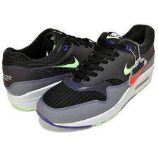 NIKE AIR MAX 1 SE FUTURE SWOOSH PACK black/cool grey-anthracite CT1624-001画像