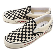 VANS ANAHEIM FACTORY CLASSIC SLIP-ON 98 DX OG FAST TIMES VN0A3JEXWVP画像