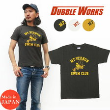 DUBBLE WORKS Lot 20233005-12 SHORT SLEEVE PRINTED T-SHIRT MT.VERNON画像