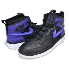 NIKE AIR JORDAN 1 HI REACT black/court purple-black AR5321-005画像