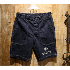 """COLIMBO HUNTING GOODS FORT HOOD RANCH UTILITY SHORTS """"PROPERTY OF S-H-L LOCK-UP"""" ZV-0215画像"""