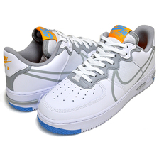 NIKE AIR FORCE 1 REACT white/lt smoke grey ct1020-100 CT1020-100画像