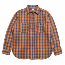 WAREHOUSE Lot 3104 FLANNEL SHIRTS B柄 ONE WASH画像