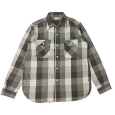 WAREHOUSE Lot 3104 FLANNEL SHIRTS C柄 NON WASH画像