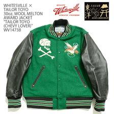 "Whitesville × TAILOR TOYO 30oz. WOOL MELTON AWARD JACKET ""TAILOR TOYO (CHEVY LOVER)"" WV14738画像"