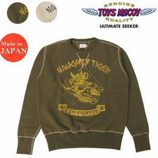 "TOYS McCOY MILITARY SWEAT SHIRT 23rd FG ""NAUGHTY TIGER"" TMC2061画像"