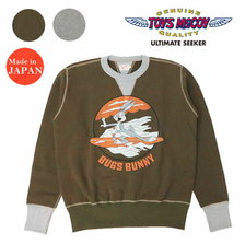 "TOYS McCOY MILITARY SWEAT SHIRT BUGS BUNNY ""MOSQUITO BOAT"" TMC2062画像"