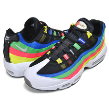 NIKE AIR MAX 95 PREMIUM HIDDEN MESSAGE black/white-racer blue DA1344-014画像