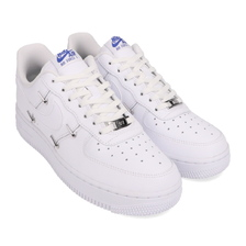 NIKE WMNS AIR FORCE 1 '07 LX WHITE/WHITE-HYPER ROYAL-BLACK CT1990-100画像