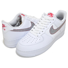 NIKE AIR FORCE 1 07 3M white/silver-anthracite CT2296-100画像