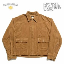 SUNNY SPORTS Lot.SN18F00400 EG SHORT JACKET画像