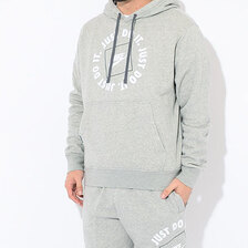 NIKE JDI Fleece Pullover Hoodie Grey DA0152-063画像