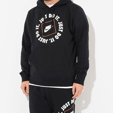NIKE JDI Fleece Pullover Hoodie Black DA0152-010画像
