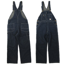 FULLCOUNT Denim Bib Overalls 1005画像