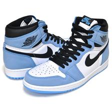 NIKE AIR JORDAN 1 HIGH OG UNIVERSITY BLUE white/black-university blue 555088-134画像