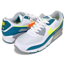NIKE AIR MAX III white/hot lime-spruce-grey fog CZ2908-100画像