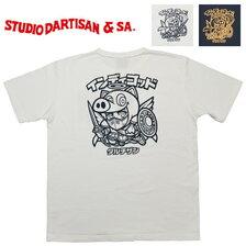 STUDIO D'ARTISAN インディゴッドTシャツ WAR-002A画像