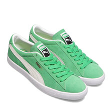 PUMA SUEDE VTG Kelly Green-Puma White 374921-03画像