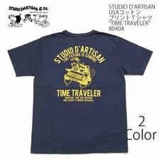 STUDIO D'ARTISAN USAコットンプリントTシャツ 8040A画像