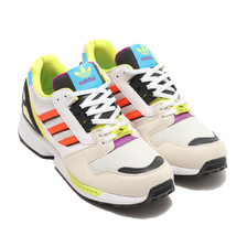 adidas ZX 8000 CLEAR BROWN/FOOTWEAR WHITE/CRYSTAL WHITE H01399画像