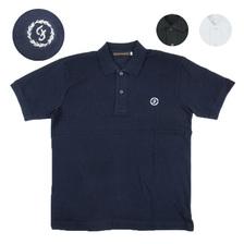 FULLCOUNT Circled F Polo Shirt 5014画像
