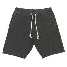 RHC Ron Herman Sweat Logo Shorts BLACK画像
