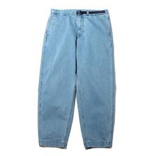 THE NORTH FACE PURPLE LABEL Webbing Belt Denim Wide Tapered Pants Indigo Bleach NT5150N-IB画像