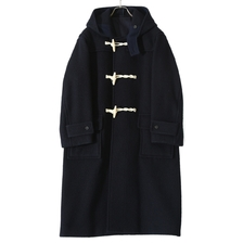 blurhmsROOTSTOCK Wool Melton Duffle Coat画像