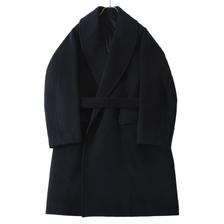 blurhms Wool Cashmere Short Beaver Shawl Collar Coat画像