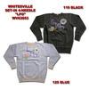 Whitesville SET-IN4-NEEDLE SWEAT CREW 「LPO」 WV63853画像