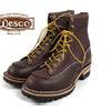 Wesco #108100 Jobmaster 8″(Lace-to-toe) ブラウン画像