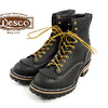 Wesco #108100 Jobmaster 8″(Lace-to-toe) ブラック画像