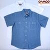 CAMCO MFG 半袖 シャンブレーシャツ画像
