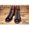 LONE WOLF BOOTS FO1615 ワークブーツ CARPENTER BLACK/BROWN画像