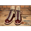LONE WOLF BOOTS FO1615 ワークブーツ CARPENTER BROWN/SUEDE画像