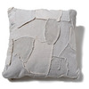 J.AUGUR DESIGN SMALL PATCHWORK PILLOW WHITE CANVAS×WHITE CANVAS画像
