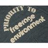 """FREERAGE フルジップ パイルパーカー """"PRIORTYロゴ"""" 210CC194-B画像"""