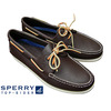 SPERRY TOPSIDER 2EYE DECK SHOES CLASSIC BROWN 0195115画像