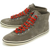 Gola SCAR SUEDE WARM GREY/RED画像